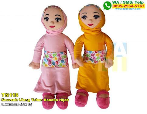 Souvenir Ulang Tahun Boneka Hijab