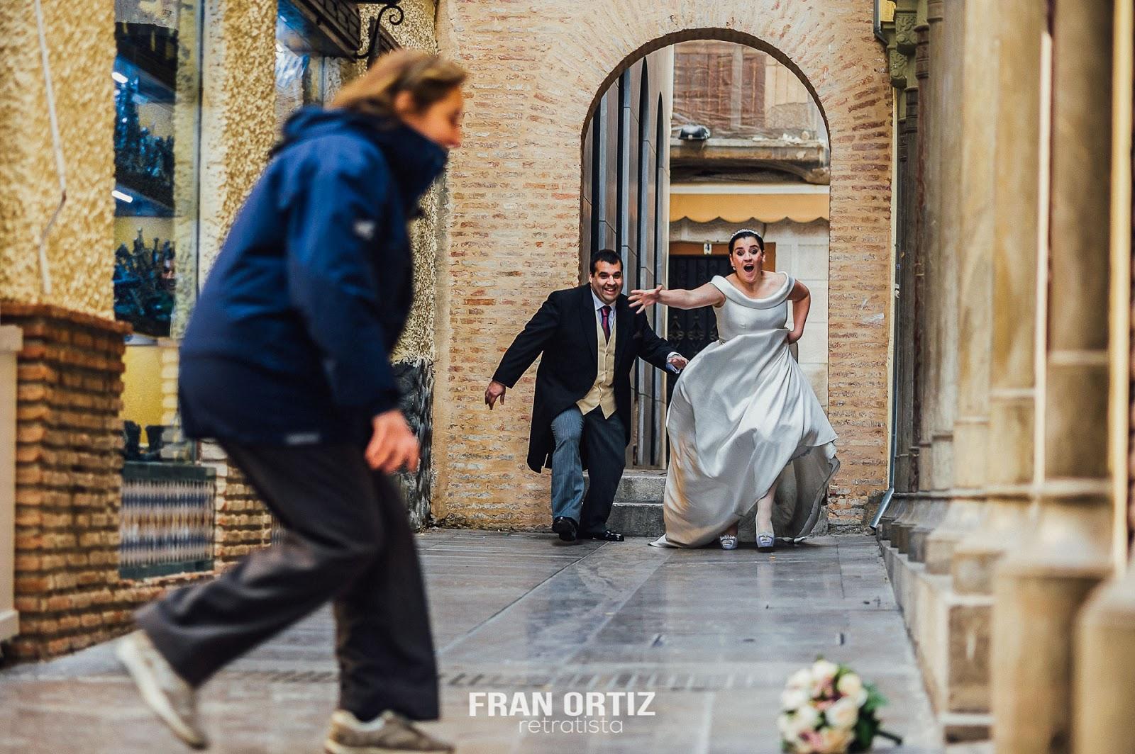 Marta & Javier Postboda en el centro de Granada