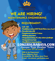 Open Recruitment di Grand Mansion Hotel, Cafe & Karaoke Surabaya Oktober 2019