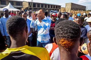 Peter Kenneth at Dagorret in Nairobi. PHOTO | courtesy