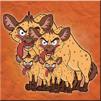 Games2Jolly Hyena Family …