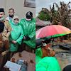 Wabup Bersama Sekda Kerinci Kunjungi dan Berikan Bantuan Kepada Korban Kebakaran