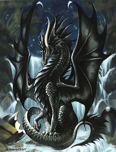 "Smaug, dragón de ""El hobbit"" de JRR Tolkien"