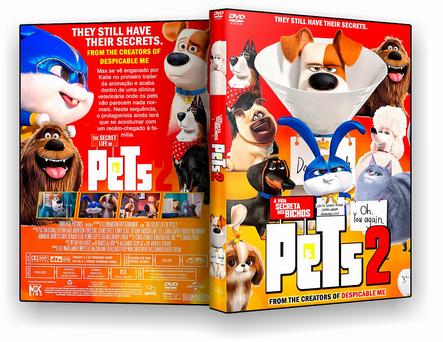 DVD Pets A Vida Secreta Dos Bichos 2 - ISO