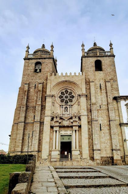 Fachada da Sé do Porto