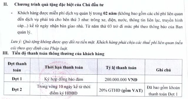 Chính sách giá dự án Sunshine Helios Capital shophouse villas Ciputra Hà Nội