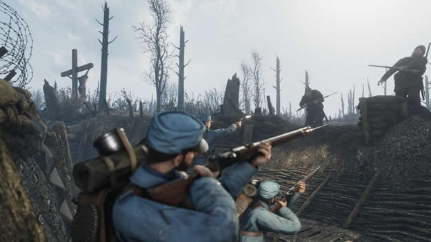 Free multiplayer shooter Verdun is shared