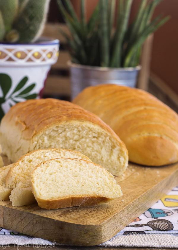 Pan para torrijas #sinlactosa #panificadora