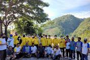 Giat Penanaman Pohon Di Benteng Otanaha Gorontalo di Hadiri Wakil Walikota Bitung