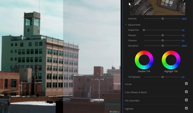 Free Color Luts for Premiere Pro