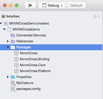 Mvvmcross For Mac Fails To Build Becauseof Missing System Runtime Dll