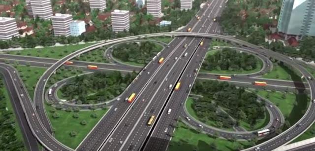 Kenapa Jembatan Semanggi Dibuat Berkelok?