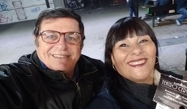 Delia Arjona y Rubén Sada