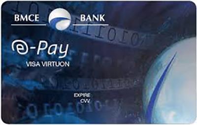كل ما تريد معرفته عن بطاقة e-pay bmce bank