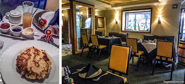 Café da manhã do Maria Condesa Boutique Hotel, Cidade do México