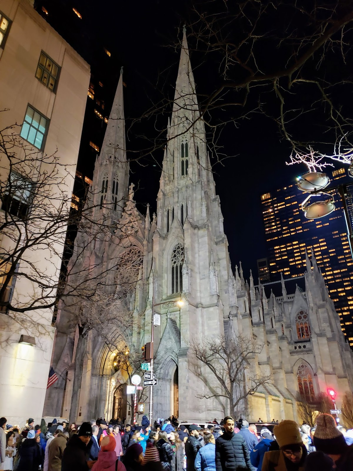 St. Patrick's Cathedral on Christmas Eve