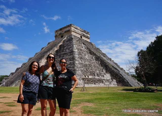 Ruínas de Chichén Itzá