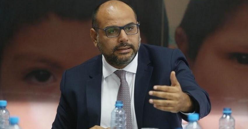 MINEDU: Sería desproporcionado ahorita una interpelación, sostiene el Ministro de Educación, Daniel Alfaro - www.minedu.gob.pe - www.minedu.gob.pe