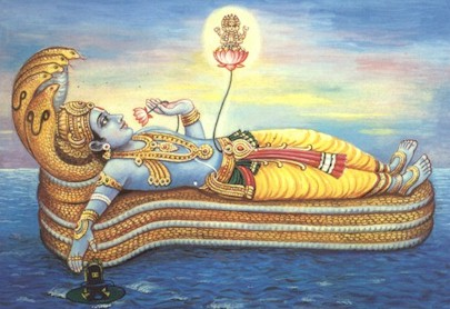 Lord Vishnu's sleep