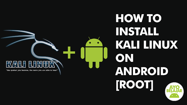 install kali linux di android