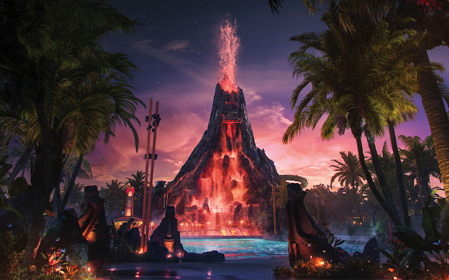 Volcano Bay na Universal Orlando