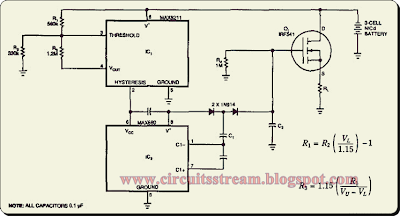 Battery Saving Disconnect Switch Circuit Diagram