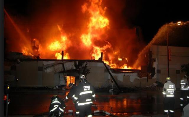 Rumah Warga Cilincing Ludes Terbakar Dilalap Sijago Merah