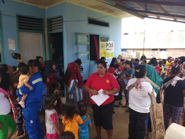 CSR Harita Nickel Bantu Kesehatan Warga Kabupaten Halmahera Selatan