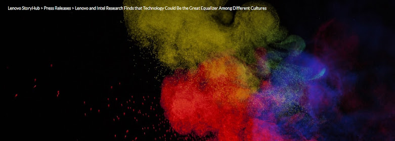 Lenovo and Intel Research Finds that Technology Could Be the Great Equalizer Among Different Cultures