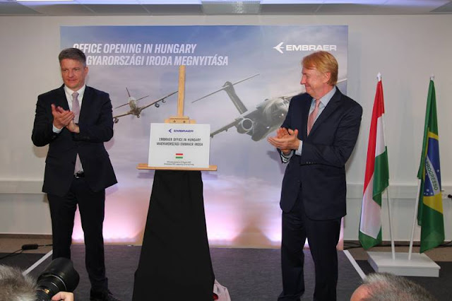 Embraer opens office Hungary