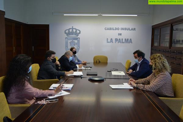FAEP valora positivamente la estrategia de dinamización de la Dirección General de Comercio para la recuperación del tejido empresarial de La Palma