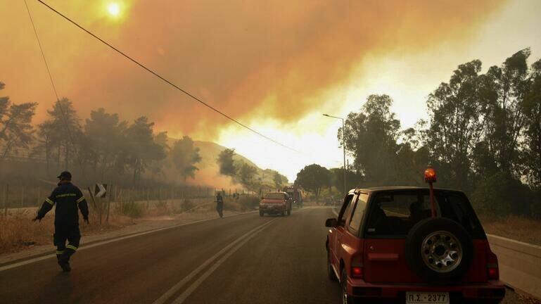 Πάνω από 3.000 στρέμματα κάηκαν στην Αχαΐα