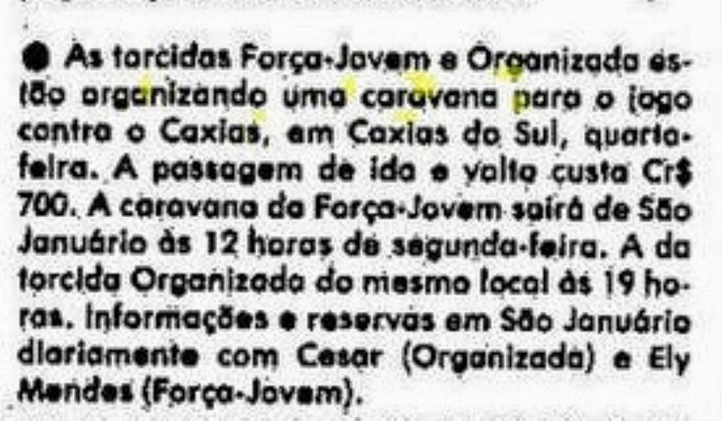 Torcidas do Vasco  FORÇA JOVEM E TOV 1978  CARAVANAS cbc6c7f7ee5bc