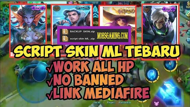 Script Skin Hero Mobile Legends