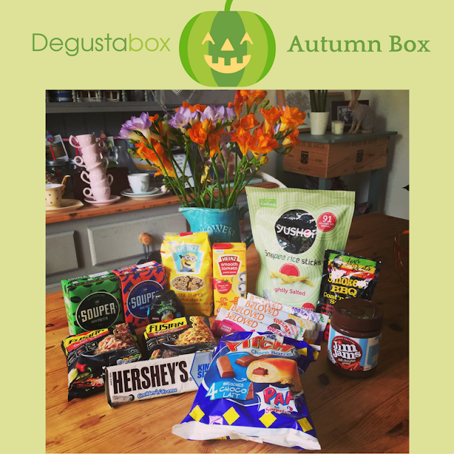 October 2016 Degustabox