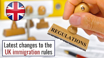The latest changes to the UK immigration rules