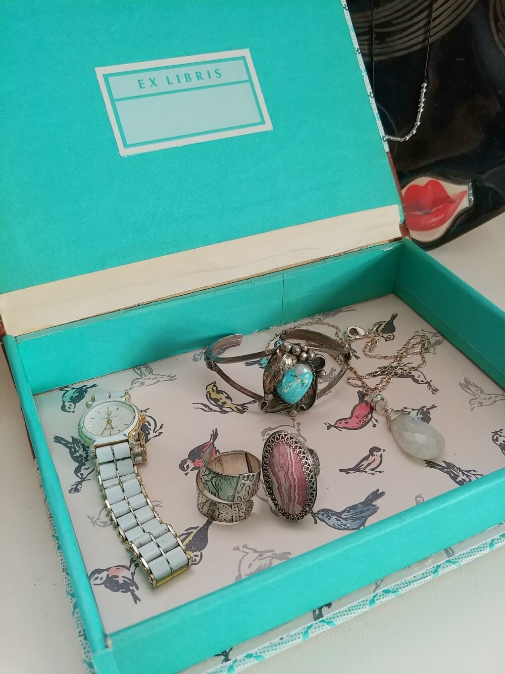 Upcycled Book Jewelry Box