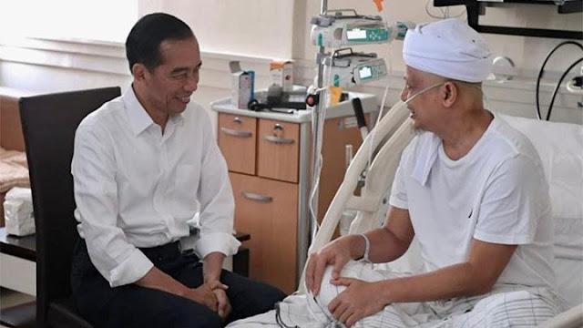 Presiden Jokowi Jenguk Ustadz Arifin Ilham, Alvin Faiz Geram Baca Komentar Nyiyir Netizen