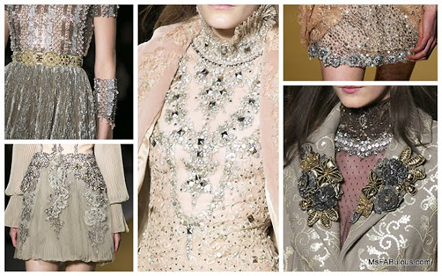 reem acra embroidered