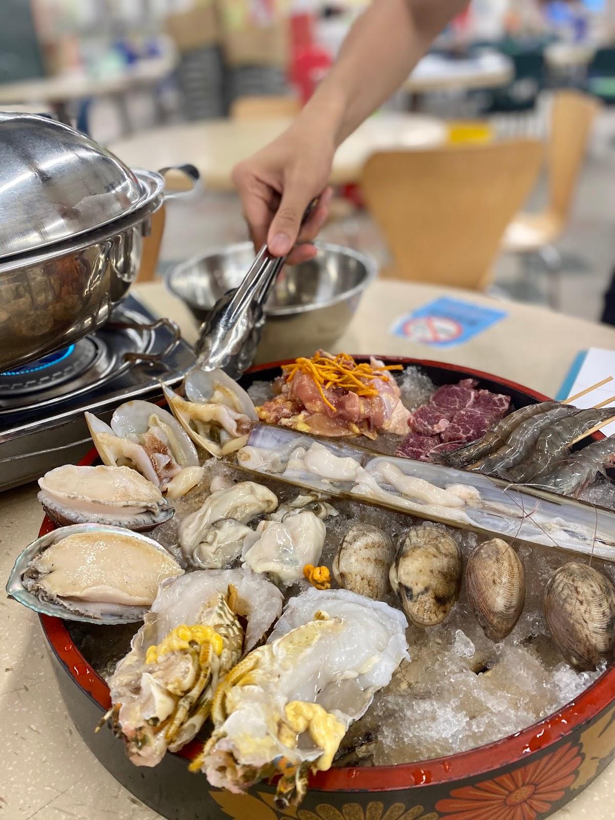 Lucas小食家《性價比極高新鮮海鮮蒸氣鍋》 - LogBook