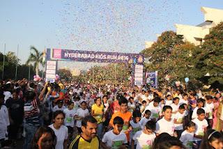 2500 Kids Run at Hyderabad Kids Run 2016