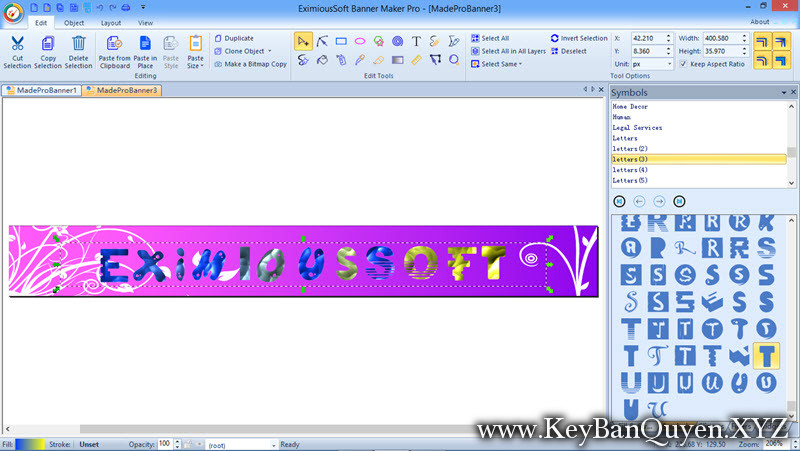 EximiousSoft Banner Maker 5.48 Full Key, Tạo và chỉnh sửa Baner chuyên nghiệp hoặc đồ họa doanh nghiệp khác.