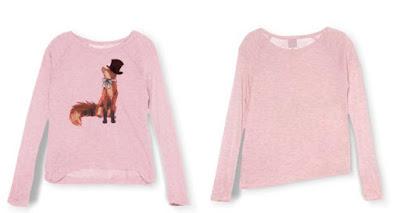 camiseta para niña de color rosa
