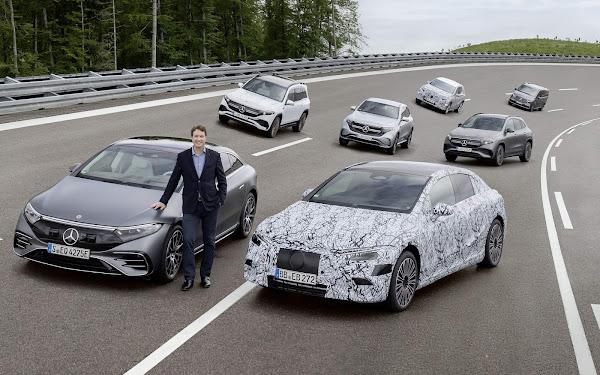 Mercedes-Benz lançará apenas carros elétricos a partir de 2025