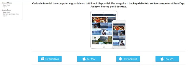 app amazon photos pc mac android ios