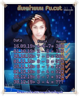 Thailand Lotto Win Tips 123 Lottery Facebook Timeline 30 December 2019