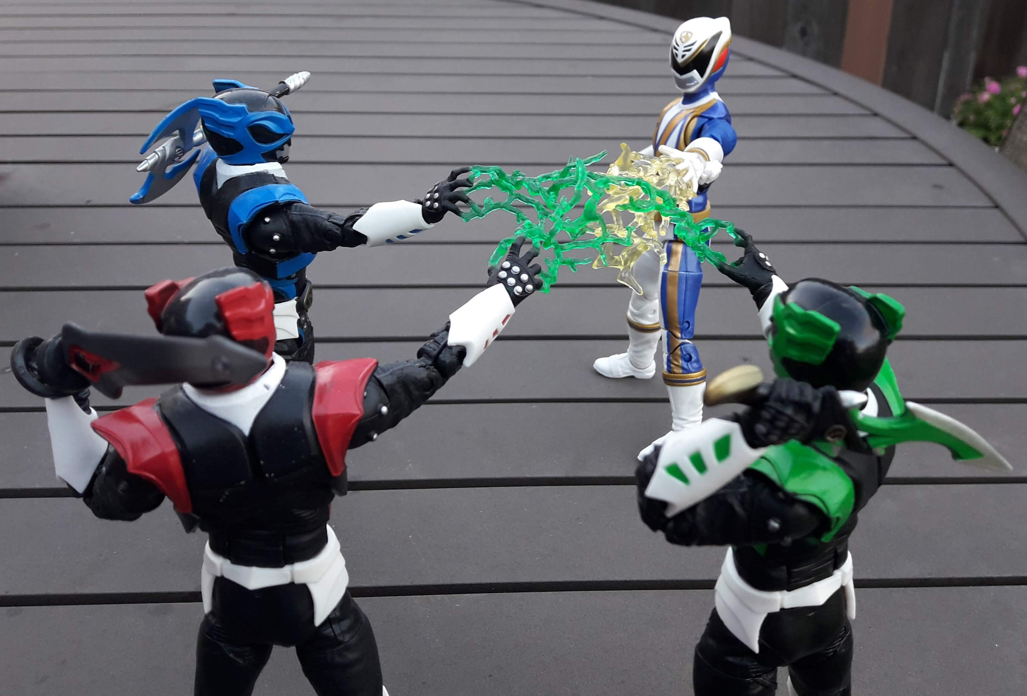 Thoughts Of The Surge Power Rangers Lightning Collection
