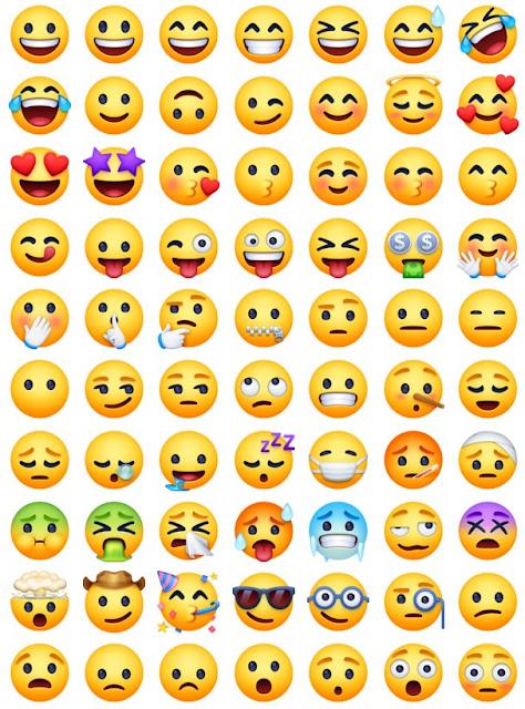 Senarai Emoji Facebook - Emoji dan Reaksi untuk Facebook