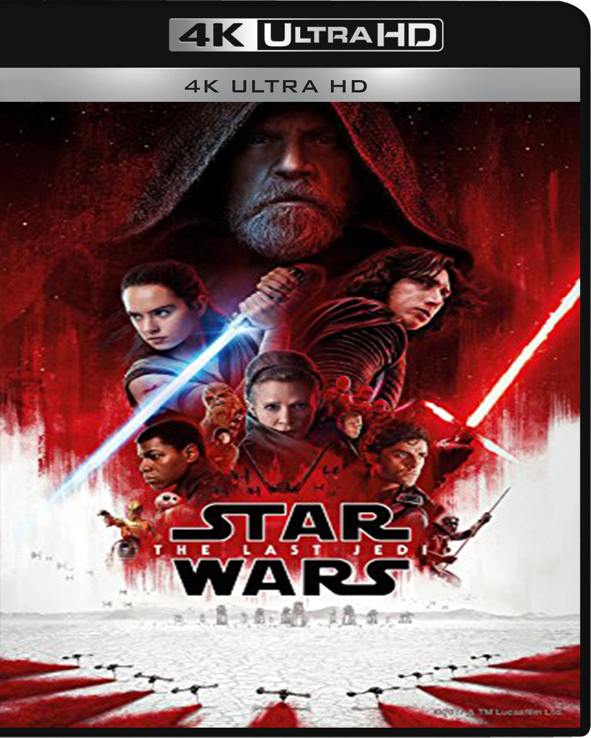 Star Wars: The Last Jedi [2017] [UHD] [2160p] [Latino]
