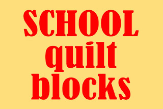 school quilt blocks